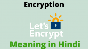 Read more about the article Encryption Meaning in Hindi
